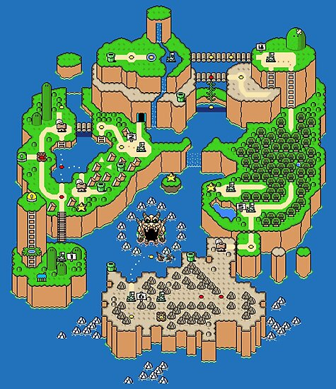 DINOSAUR'S LAND MAP by PIXLTEES
