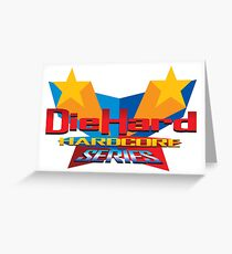 DieHard: Hardcore Series Logo Greeting Card
