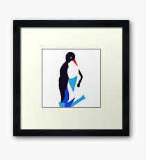 Animal (penguin) illustration Framed Print