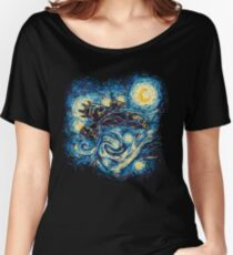 Starry Flight Women's Relaxed Fit T-Shirt