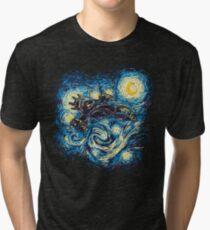 Starry Flight Tri-blend T-Shirt