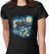 Starry Flight Women's Fitted T-Shirt