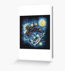 Starry Flight Greeting Card