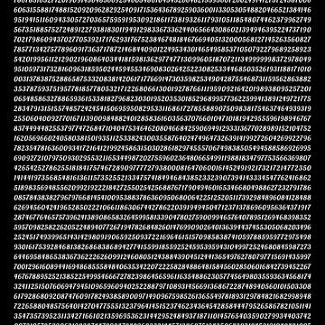 Pi π by JoyfulTypist