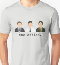 Jim, Dwight, Michael- The Office T-Shirt