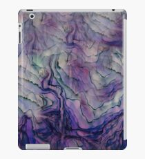 Purple Water Color Abstract iPad Case/Skin