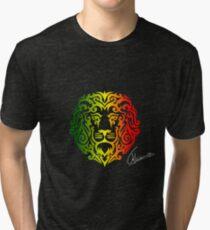 Rasta Lion Tri-blend T-Shirt