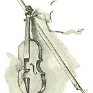 Violin - Musical Instrument Illustration by Hannah Sterry