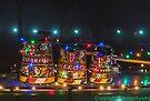 Canal Art Buckets ala fairy lights  by bywhacky