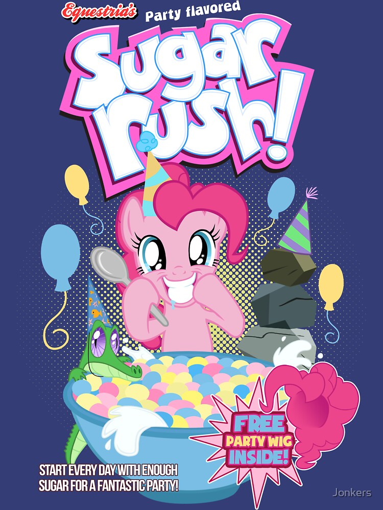 Party Flavored Sugar Rush! by Jonkers