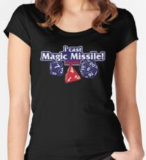 I Cast Magic Missile II Women's Fitted Scoop T-Shirt