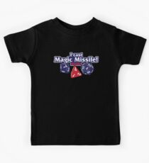 I Cast Magic Missile II Kids Tee