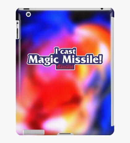 I Cast Magic Missile! iPad Case/Skin