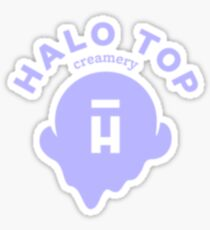 Halo Top Ice Cream Sticker