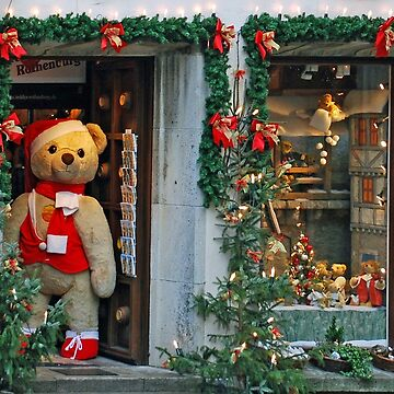 Christmas in the Teddybear-shop by akoene232