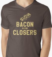 Bacon is for Closers Men's V-Neck T-Shirt