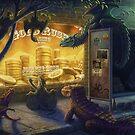 Dragon Gold Rush by moderndragon