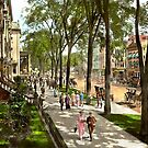 City - Saratoga NY -  I would love to be on Broadway 1915 by Mike  Savad