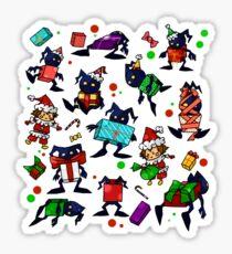 KH-Heartless Presents (White) Sticker