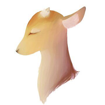 Deer by fazedemotions
