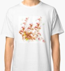 Mauve and Golden Flower Spray Classic T-Shirt