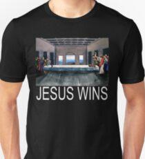 Jesus Wins - Party T-Shirt