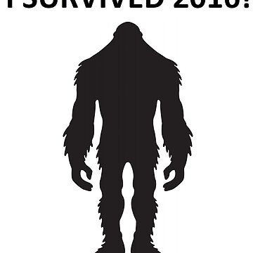 Bigfoot - I Survived 2016 by SquatchCentral