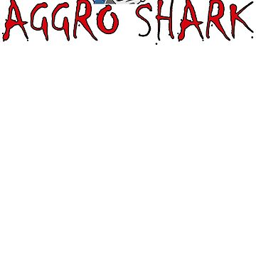 Aggro Shark Logo 2 by AGGRO
