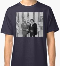 Nixon and Elvis Classic T-Shirt