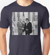 Nixon and Elvis Unisex T-Shirt