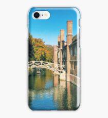 Mathematical Bridge, Cambridge iPhone Case/Skin