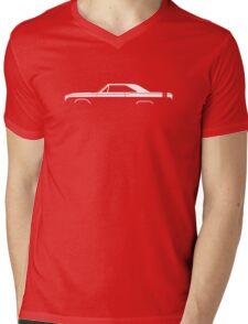 Car silhouette for 1968 Dodge Dart GTS enthusiasts Mens V-Neck T-Shirt