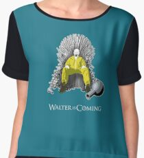 Breaking Bad - Walter is Coming Women's Chiffon Top
