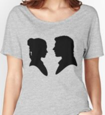 Leia Han silhouette Women's Relaxed Fit T-Shirt