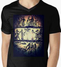 Annunaki  Mens V-Neck T-Shirt