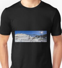 Mayflower Gulch, CO (Panoramic) Unisex T-Shirt
