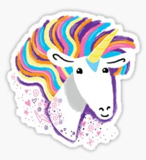 completely love this unicorn Sticker