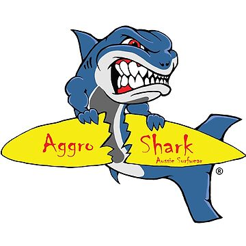 Aggro Shark Surf Board by AGGRO