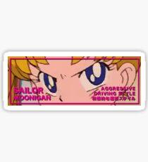 Sailor Moonigan Eyes V2 Sticker