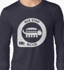 Neko Bus Stop Long Sleeve T-Shirt