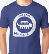 Camiseta ajustada Parada de autobús de Neko