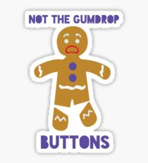 Le Gumdrop Buttons  Sticker
