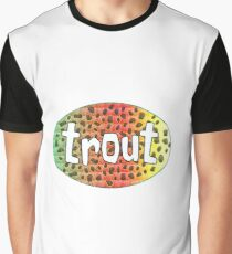 Rainbow Trout Graphic T-Shirt