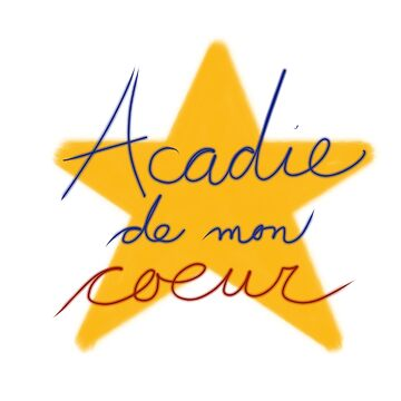 T-shirt acadien - Acadian T-Shirt by ColoursOfFrance