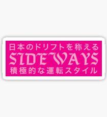 Sideways Pinky Bumper Slap Sticker