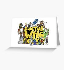 Doctor Who Rocks Greeting Card
