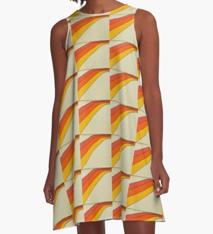Twist A-Line Dress