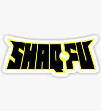 Shaq Fu Sticker