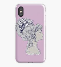 Marie Antoinette Rococo Ship hair iPhone Case