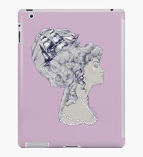 Marie Antoinette Rococo Ship hair iPad Case/Skin